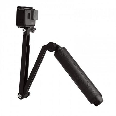 Maner flexibil Mango Three Way Telesin pentru camere de actiune (GoPro)