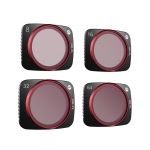 Set 4 filtre ND-PL PGYTECH (NDPL 8 / 16 / 32 / 64 Professional) pentru DJI Air 2S