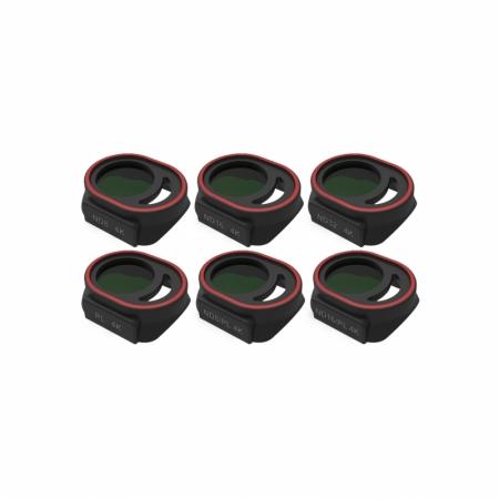 Set 6 filtre 4K Freewell pentru DJI Spark - ND8, ND16, ND32, PL, ND8/ PL, ND16/ PL