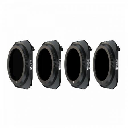 Set 4 Filtre Bright Day Freewell pentru Mavic 2 Pro ND8/PL, ND16/PL, ND32/PL, ND64/PL