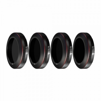 Set 4 Filtre Bright Day Freewell pentru Mavic 2 Zoom ND8/PL, ND16/PL, ND32/PL, ND64/PL