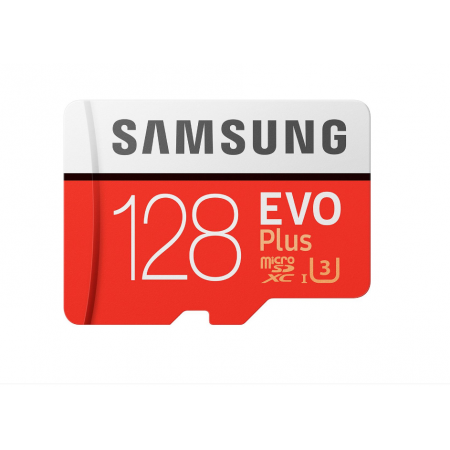 Card Samsung de memorie Micro- SDXC EVO Plus 128Gb, UHS-I U3 + Adaptor SD, Class 10