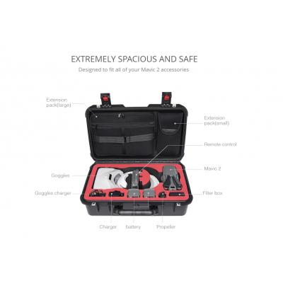 Geanta de transport Hardcase PGYTECH pentru DJI Mavic 2 & DJI Goggles (Standard)