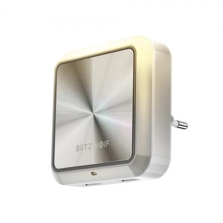 Incarcator Dual USB cu senzor de lumina - BlitzWolf
