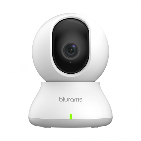 Camera inteligenta de supraveghere Blurams Home Dome Lite 2, 1080p, 15fps, Night vision, Detectie umana, Senzori auditivi si de miscare