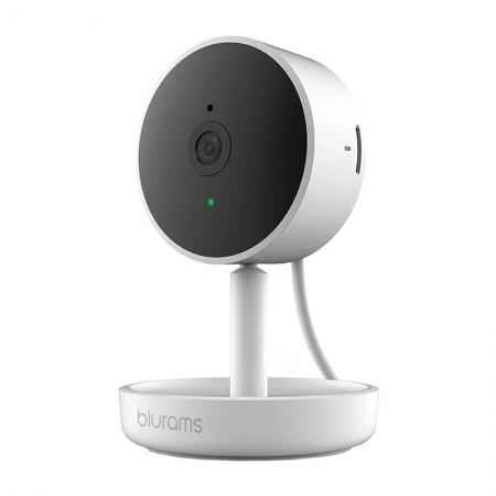 Camera inteligenta de supraveghere Blurams Home Pro, 1080p, 15fps, Night Vision, Detectie umana si Recunoastere faciala