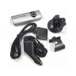Cameră auto R300 HD, cu dublă lentilă şi GPS, Card 16 GB Gratuit
