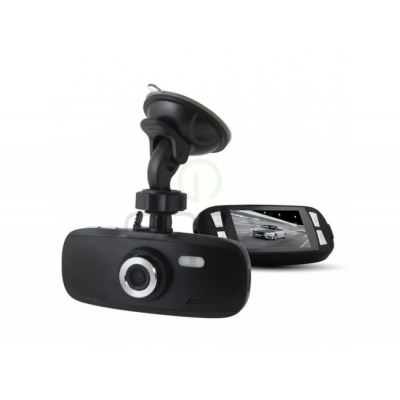 Cameră Video Auto DVR H120, Ultra HD 1296P, Foto 12MP, 60FPS, Card 16 GB - WDR - FILMARE NOCTURNĂ FOARTE BUNĂ