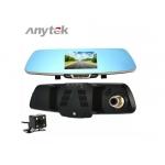 Camera Auto Oglinda Anytek HD, Q3, 1080p, G sensor, 148 grade fata, 90 grade spate, WDR
