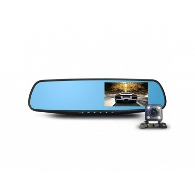 Camera Auto Oglinda Anytek HD, Q5, 1080p, G sensor, 148 grade fata, 90 grade spate, WDR