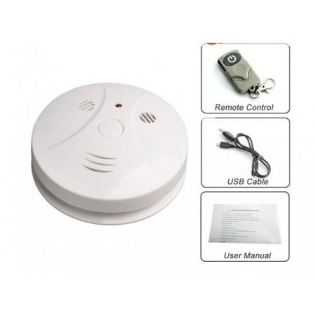 Camera Ascunsa in Detector de Fum, Senzor de miscare