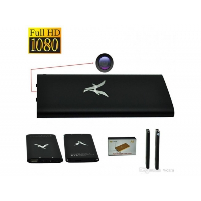 Camera Full HD 1080P cu Senzor de miscare si Night Vision ascunsa in Baterie Externa