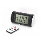 Ceas de birou CMCVR102 cu Minicamera video spion, 32 GB, Telecomanda, Senzor Miscare