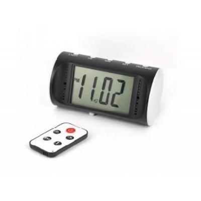 Ceas de birou CMCVR102 cu Minicameră video spion, 32 Gb, Telecomandă, Senzor Mişcare