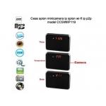 Microcamera Spion Wi-Fi IP P2P Ascunsa in Ceas De Birou, Senzor Miscare, 32Gb, 1080p