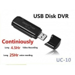 Stick Spion cu microcamera, Inregistrare Video 4.5 ore, inregistrare audio 25 ore, Card 16GB