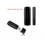 Stick Spion cu microcamera, Inregistrare Video 4.5 ore, inregistrare audio 25 ore, Card 16GB