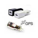 Incarcator Auto cu Microfon Spion GSM/Tracker, Autonomie Nelimitata