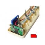 Microfon GSM ascuns in prelungitor
