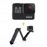 GoPro HERO7 Black + Monopied 3 Way