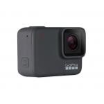 GoPro HERO7 Silver - Comenzi vocale, Stabilizare video, GPS, Rezistent la apa, 4k30/1080p60 + MEGA PACHET de Accesorii SHOOT