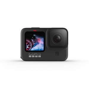 GoPro HERO9 Black, 5K30, 20MP, HyperSmooth 3.0, ecran frontal color