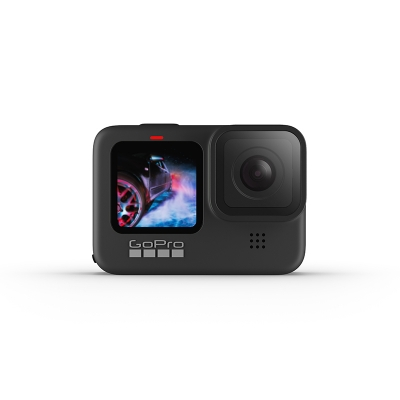 GoPro HERO9 Black, 5K30, 20MP, HyperSmooth 3.0, ecran frontal color