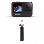 GoPro HERO9 Black, 5K30, 20MP, HyperSmooth 3.0, ecran frontal color + Shorty
