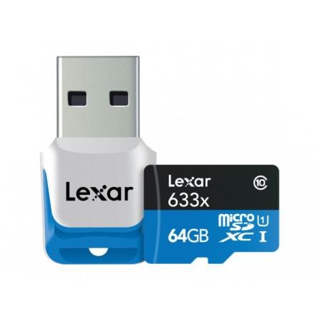 Lexar 633x Micro SDHC 64 GB