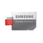 Card de memorie Micro-SDXC Samsung Evo Plus 128GB, UHS-I U3, Class 10 + Adaptor SD (Viteza citire 100 MB/s, scriere 60 MB/s)
