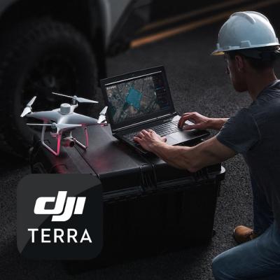 Software DJI Terra, cartografiere 2D & 3D, Advanced / Pro / Electricity