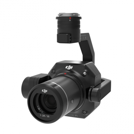 DJI ZENMUSE P1, 45MP Full-Frame, Stabilizare pe 3 axe, TimeSync 2.0m, Obiective 24 / 35 / 50mm