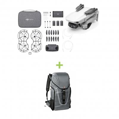 DJI Mavic Mini Fly More Combo + Rucsac Manfrotto Hover 25 ideal pentru drona/foto/laptop