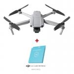DJI Mavic Air 2, Gimbal 3 axe, 12MP, 48MP, Video 4K, Autonomie 34min, 570g + Asigurare DJI Care Refresh (12 luni)