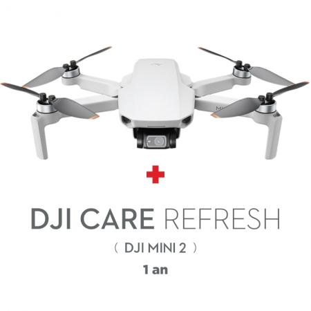 DJI Mini 2, Gimbal 3 axe, 4K, Autonomie 31 min, 249g + Asigurare Care Refresh 1 an