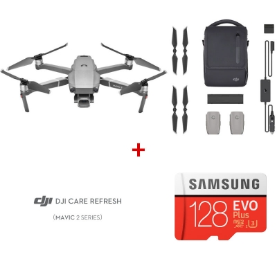 DJI Mavic 2 Pro Fly More Combo + DJI Care Refresh + card Samsung Evo Plus 128GB