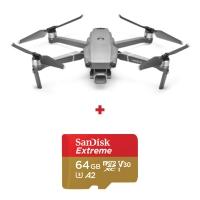 DJI Mavic 2 Pro, Camera 4K Hasselblad, Autonomie 31 min., OcuSync 2.0 + card Sandisk Extreme 64GB