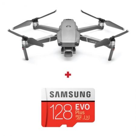 DJI Mavic 2 Pro, Camera 4K Hasselblad, Autonomie 31 min., OcuSync 2.0 + card Samsung Evo Plus 128GB