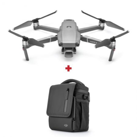 Drona DJI Mavic 2 PRO, Camera Hassleblad, 20MPx CMOS Sensor, HDR Video + Geanta de umar