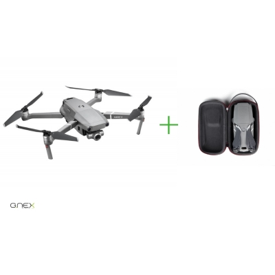 Drona DJI Mavic 2 ZOOM, Super Rezolutie 48MPx Foto, Dolly Zoom, 4x Zoom FHD Video + geanta mini de transport Pgytech