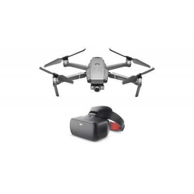 Drona DJI Mavic 2 ZOOM & DJI Goggles RE, Super Rezolutie 48MPx Foto, Dolly Zoom, 4x Zoom FHD Video