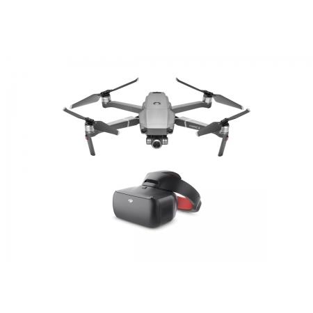 Drona DJI Mavic 2 ZOOM & DJI Goggles RE, Super Rezolutie 48MPx Foto, Dolly Zoom, 4x Zoom FHD Video