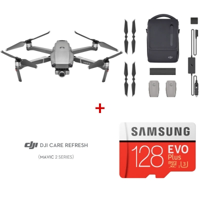 DJI Mavic 2 Zoom Fly More Combo + DJI Care Refresh + card Samsung Evo Plus 128GB
