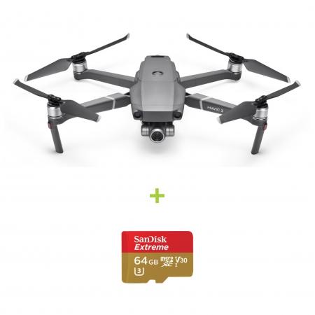 Drona DJI Mavic 2 ZOOM + card Sandisk Extreme 64GB cadou