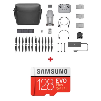 DJI Mavic Air 2 Fly More Combo + card Samsung Evo Plus 128GB