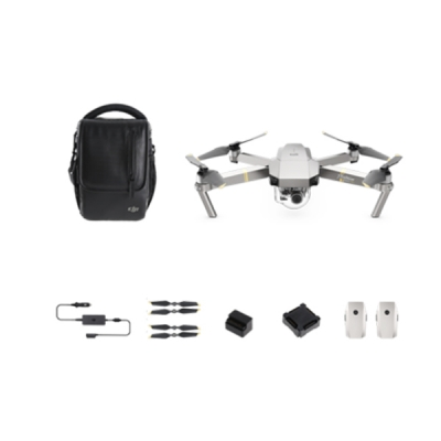Drona DJI Mavic Pro PLATINUM Fly More Combo , Video 4K, Foto 12MPx, 30min zbor