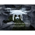 Drona DJI Phantom 4 Advanced + Baterie Suplimentara, Filtru ND, Skin, Card16GB Cadou!