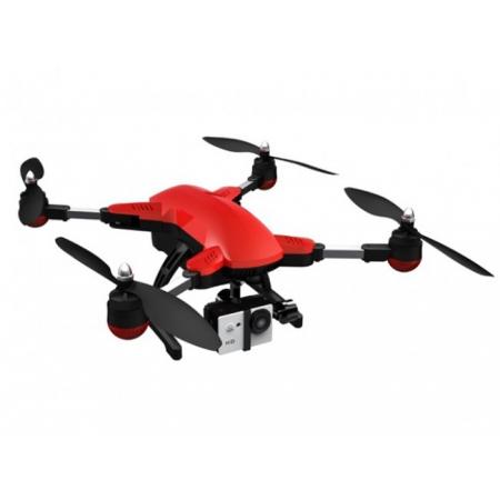 Drona SimToo DragonFly, Pliabilă, Brăţară transmiţător cu funcţie de urmărire, Cameră 4 K, Gimbal
