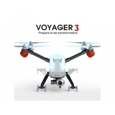 WALKERA VOYAGER 3, WHITE - Dronă cu GIMBAL 3D şi Cameră, 2 x Radiocomandă DEVO F12E