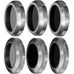 Set 6 Filtre Essential Freewell pentru DJI Mavic 2 Zoom - ND4, ND8, ND16, CPL, ND32/PL, ND64/PL